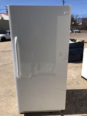 Brand new open box upright freezer with 1 year warranty