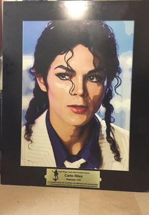 Dead Ringer Look- Alike Contest Winner painting