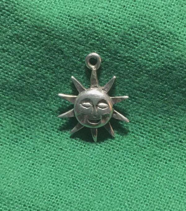 Celestial silver sun pendant charm jewelry accessories in celestial silver sun pendant charm mozeypictures Image collections