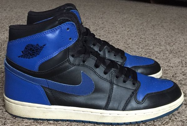 2001 Nike Air Jordan 1 Royal size 10.5 (Clothing & Shoes) in Clarksville, TN