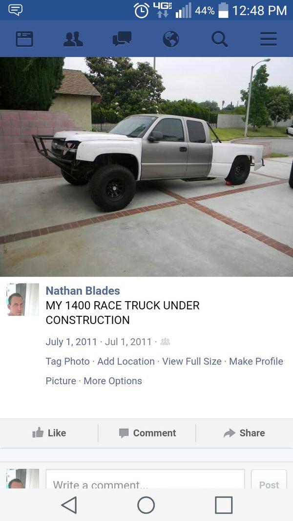 CHEVY PRERUNNER SALE OR TRADE (Cars & Trucks) in La Puente, CA