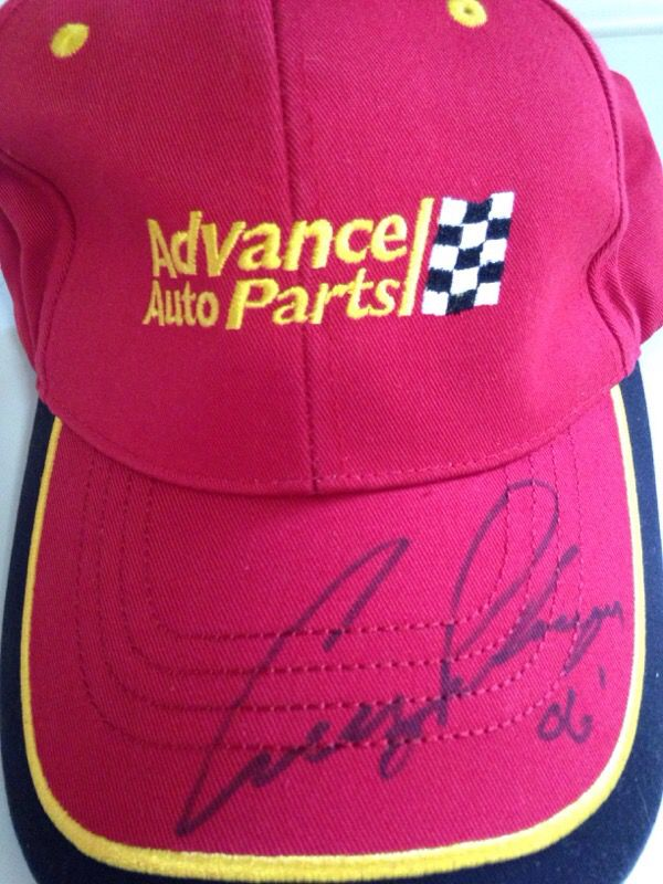 910da527a2aeb ... inexpensive advance auto parts cruz pedregon signed hat general in  dunmore pa offerup acc3b 796db
