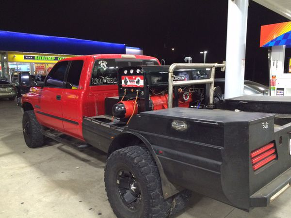 Dodge Ram  Red Truck Bed For Sale