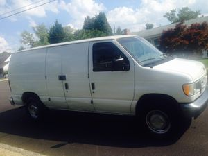 2002 Ford e250 Cargo work van auto trans cold a/c V6 runs good