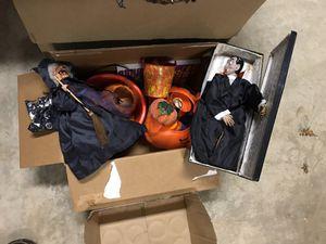 Box Halloween decorations