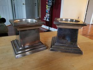 Candle Holders -brass