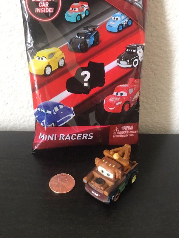Disney Cars 3 Mini Racers Die Cast Blind Bag Mater
