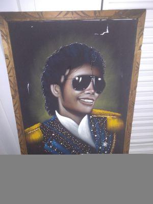 Self portrait of Michael Jackson