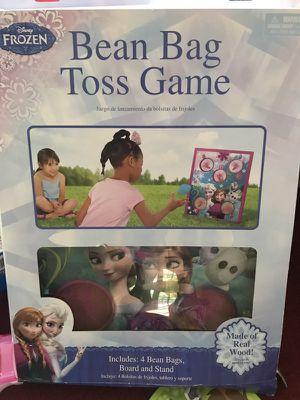 Frozen bean bag toss game