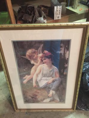 Beautiful cherub angel picture