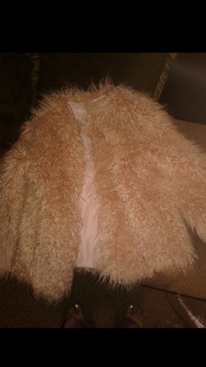 H&M Furr Coat ( BRAND NEW )