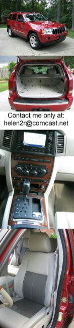 2OO5 Jeep Grand Cherokee is in excellent condition with no damage and low miles.