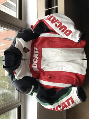 Ducati Corse Motorcycle Leather Jacket Size 50 IT (US Size 40 or M) for $285 or Best Offer