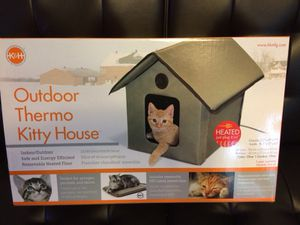 K & H Outdoor Heated Kitty House