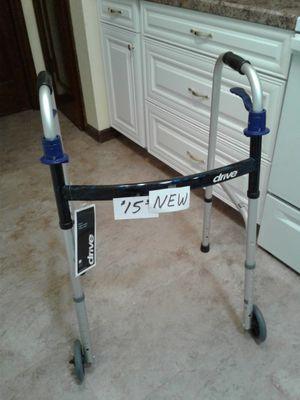 New Blue Design Walker