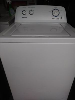 AMANA WASHER EXCELLENT CONDITION 3 MONTHS WARRANTY FREE DELIVERY IN VOLUSIA AND SEMINOLE COUNTY