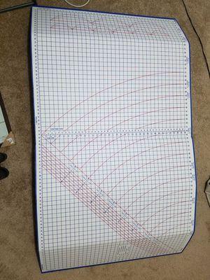 Fabric cutting mat