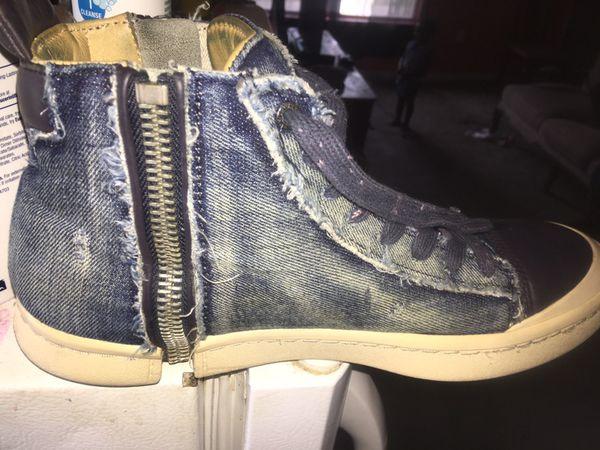 Demin diesel shoes size 9.5