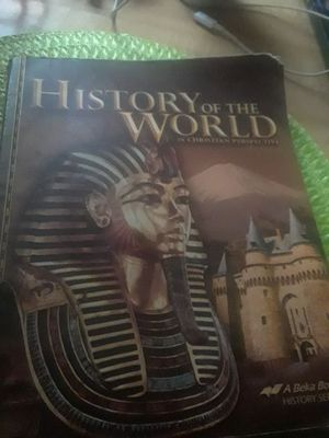 History book christian perspective 8th grade