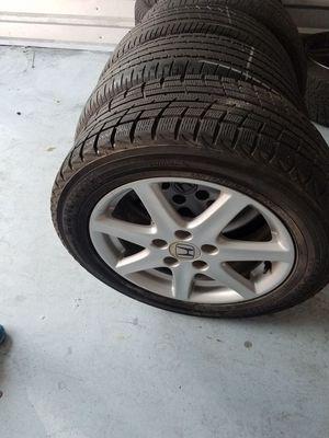 Honda accord rims tires 5x114.3