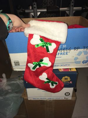 Holiday Stockings and Bows