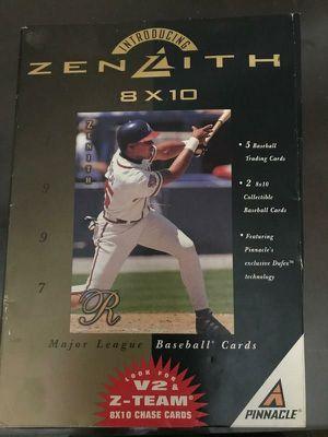 Zenith 8x10 baseball cards