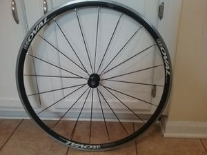 Oval front wheel