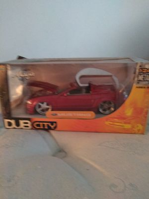 Rare Dub City 1:24 scale Mustang