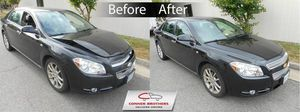 Mobile auto body repair