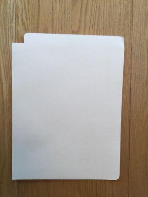 File folder, end tab expandable