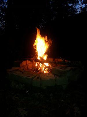 Truckload seasoned split firewood