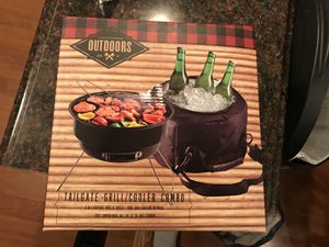 Tailgate /Outdoors grill/ cooler combo