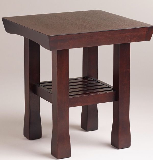 Wood end table Furniture in Des Moines WA ferUp