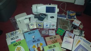 Brother PC-8200 Embroidery/Sewing Machine