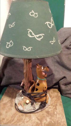 Vintage scooby doo lamp