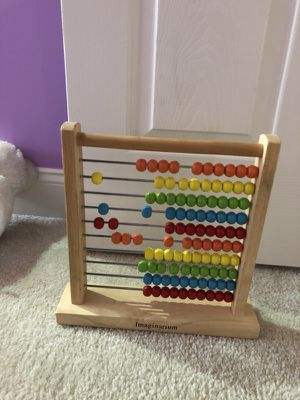 Abacus beads toy-$3
