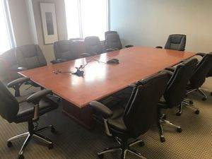 10'x5' executive conference table