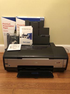 Wide format photo printer