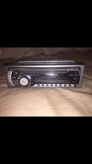 Pioneer 1-DIN car stereo