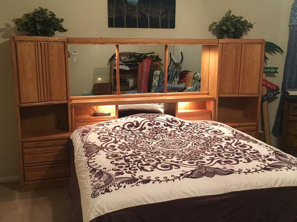 King Oak Headboard - Blackhawk Furniture (Furniture) in Little Elm ...