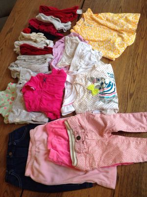 6-9mos girls clothes.