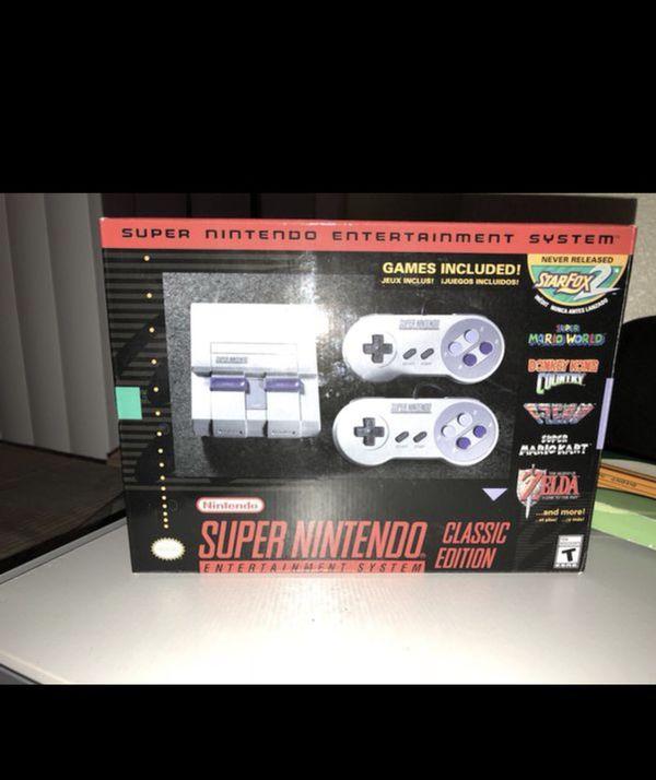 Super Nes Classic Edition Video Games In Palm Desert Ca