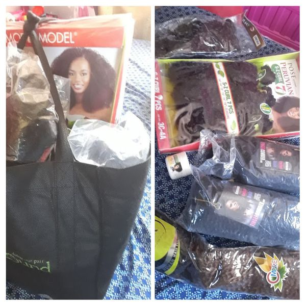 Bag Bundle Brand New Hair Extensions For African Americans Beauty