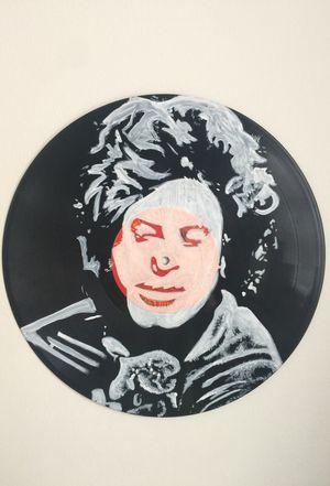 Billy Joel hand painted vinyl record