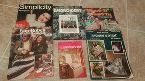 Sewing/knitting books
