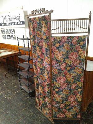 Antique 3 panel screen or Antique Shelf for sale