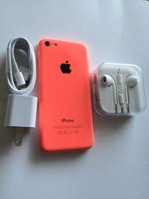 Unlocked iPhone 5c,excellent condition