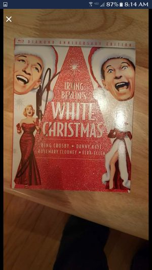 White Christmas Autographed MICHAEL Buble DVD