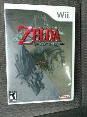 Wii The Legend of Zelda Twilight Princess