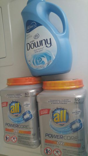 All and Downy laundry - not negotiable